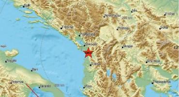 Potres u Albaniji, osjetio se i u BiH