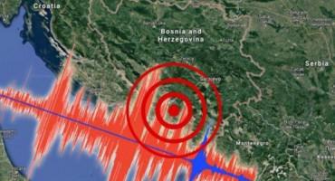 NA SVU SREĆU Unatoč snažnom potresu, nitko u Hercegbosanskoj županiji nije prijavio štetu