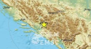 Potres zatresao Hercegovinu