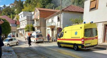 Bračni par ozlijeđen u požaru u Širokom Brijegu