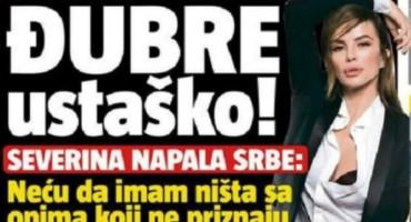 ĐUBRE USTAŠKO Severinu izvrijeđali jer je odbila posao na Dodikovoj televiziji