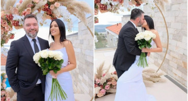 TREĆA SREĆA Ministar Košarac oženio se 17 godina mlađom djevojkom