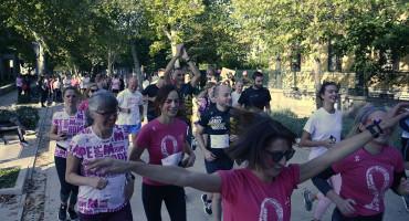 MOSTARSKIM ULICAMA Utrke-šetnje kao podrška oboljelima od raka dojke