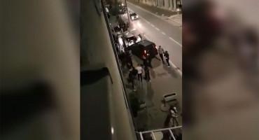 KNIN U tučnjavi navijača letjele boce i drugi predmeti, a onda je došla policija